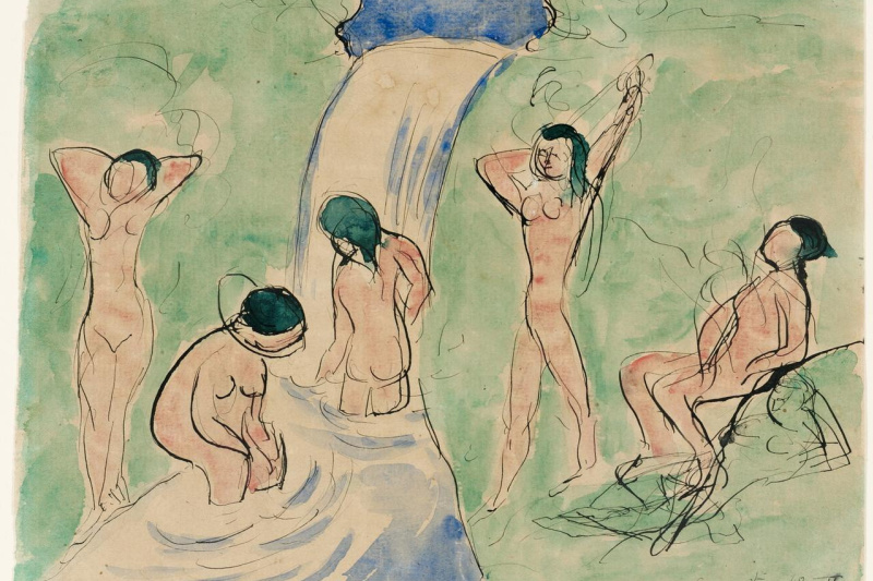 Henri Matisse. Bathers. Composition number II