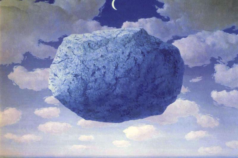 René Magritte. The Arrow Of Zeno