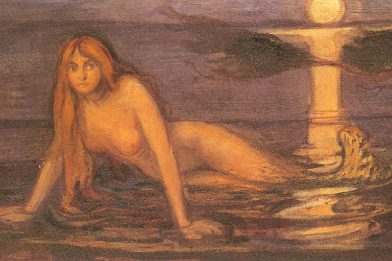 Edvard Munch. The lady from the sea