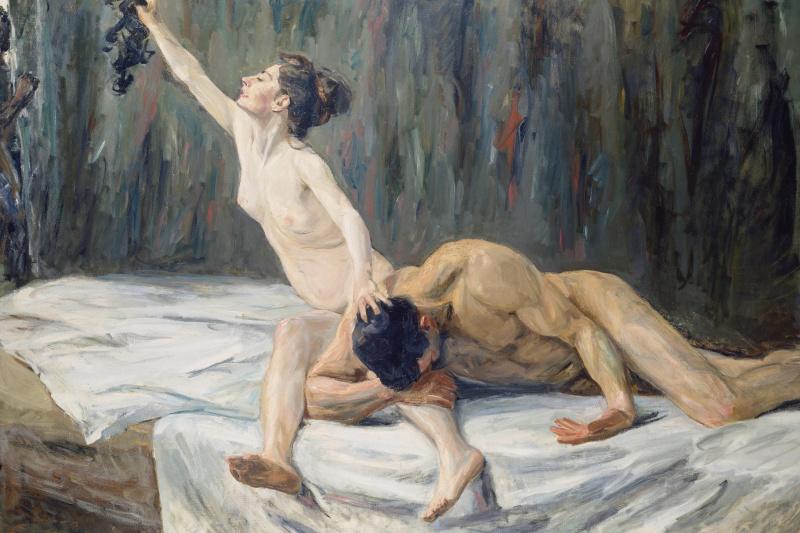 Max Lieberman. Samson and Delilah