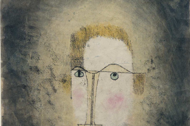 Paul Klee. Portrait of a yellow man