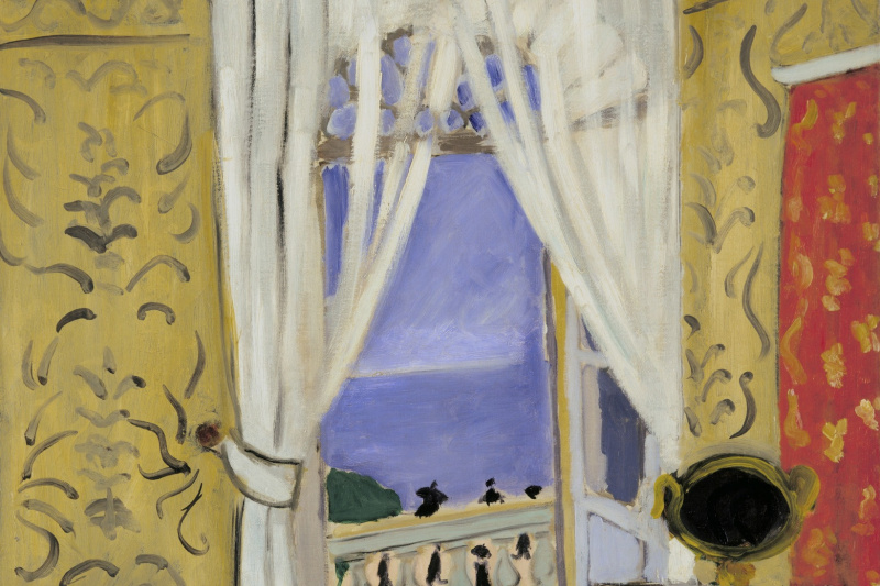 Henri Matisse. The interior with the case of a violin