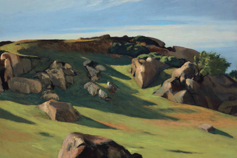 Edward Hopper. Cape Ann Granite