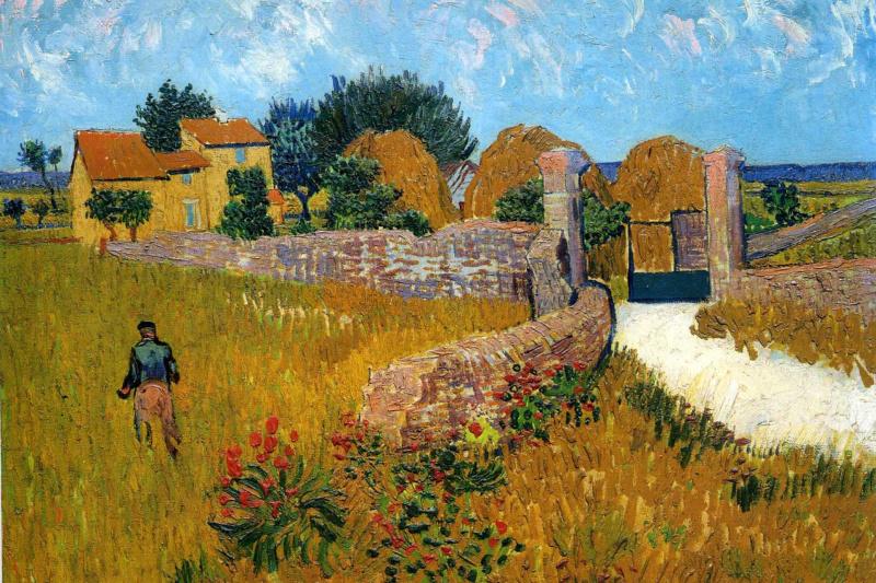 Vincent van Gogh. Farm in Provence