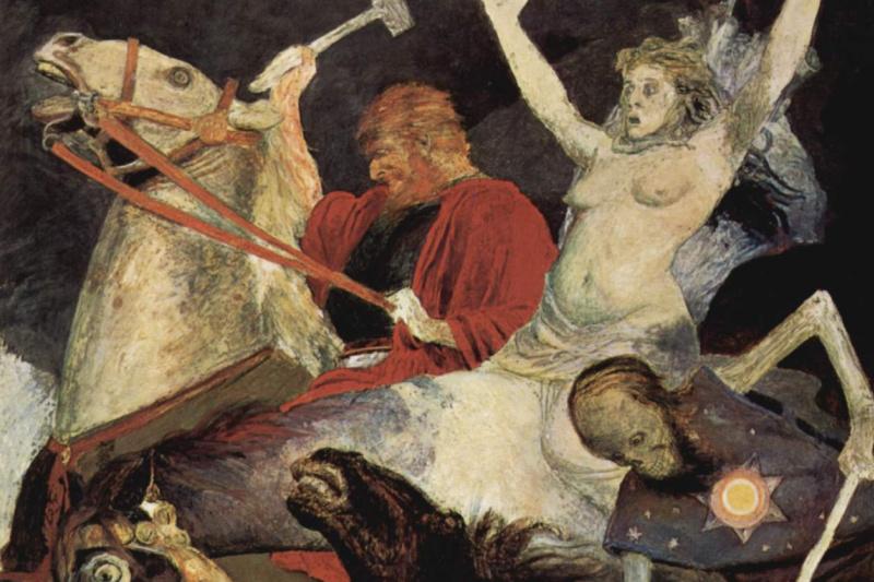 Arnold Böcklin. War