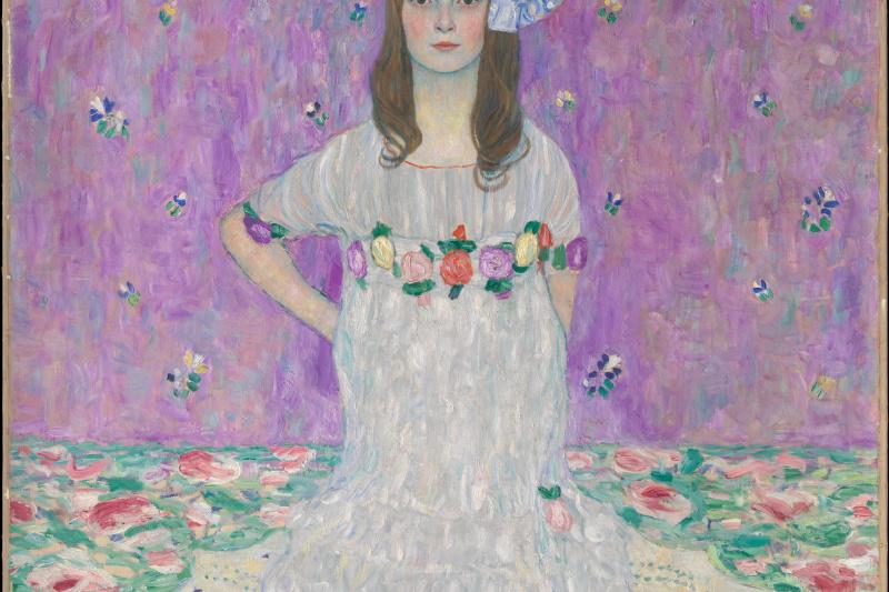 Gustav Klimt. Portrait Of Mada Primavesi