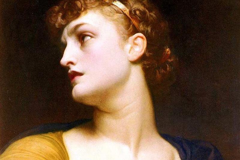 Frederic Leighton. Clytemnestra (Antigone)