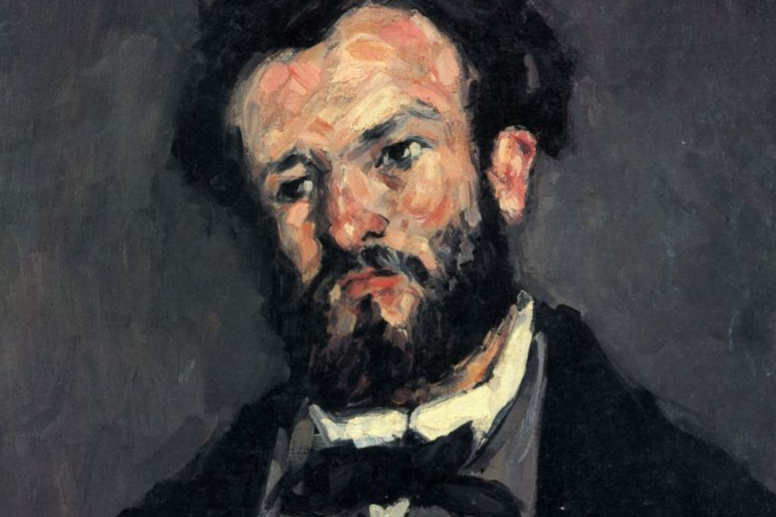 Paul Cezanne. Portrait Of Anthony Valabrega
