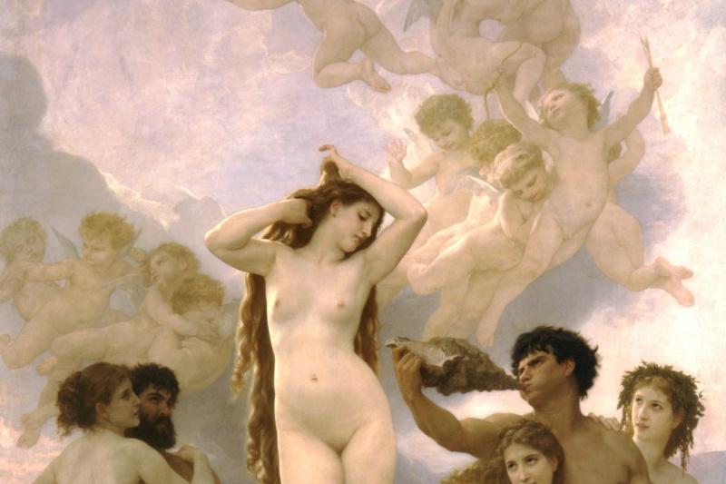 William-Adolphe Bouguereau. The Birth Of Venus