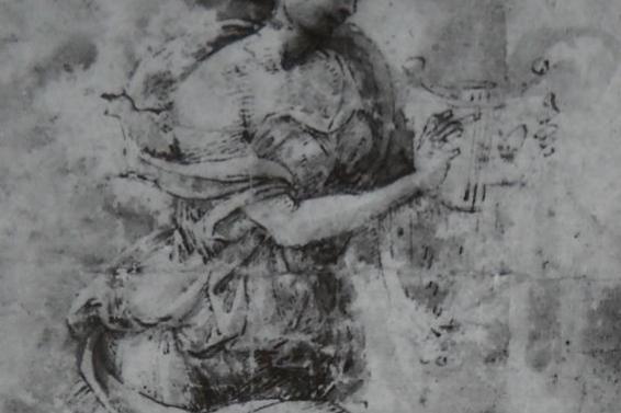 Filippino Lippi. Erato