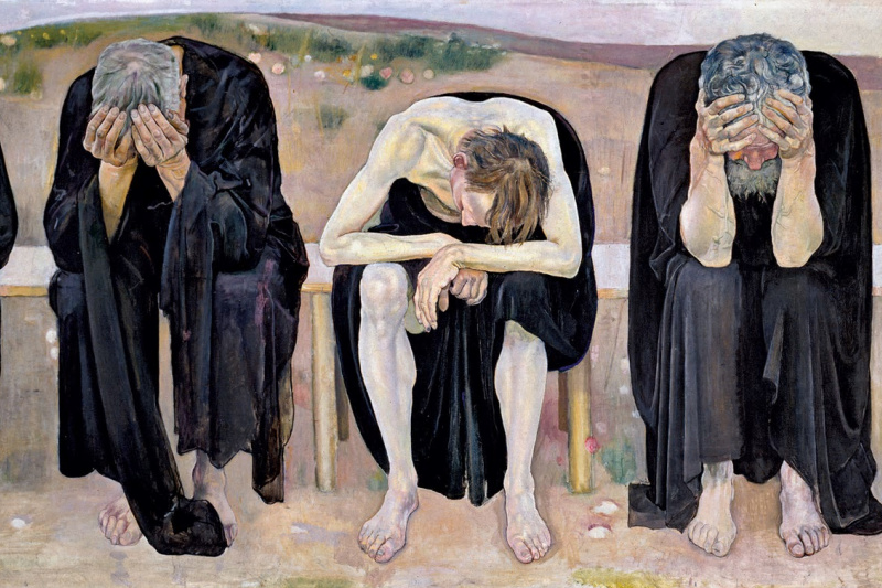 Ferdinand Hodler. Disappointed Souls