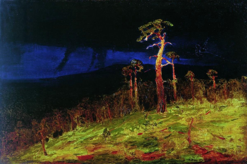 Arkhip Ivanovich Kuindzhi. In The Crimea