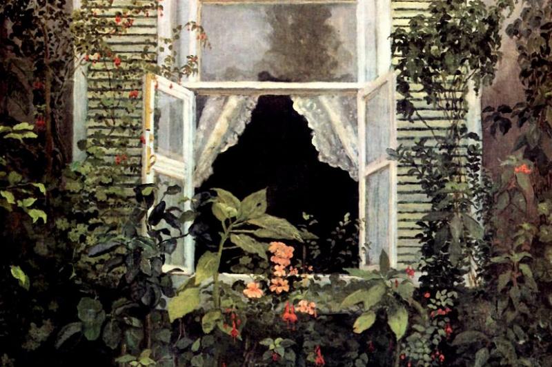 Victor Elpidiforovich Borisov-Musatov. Window