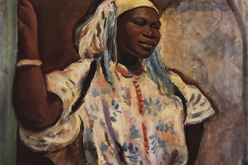 Zinaida Serebryakova. A Moroccan woman in white