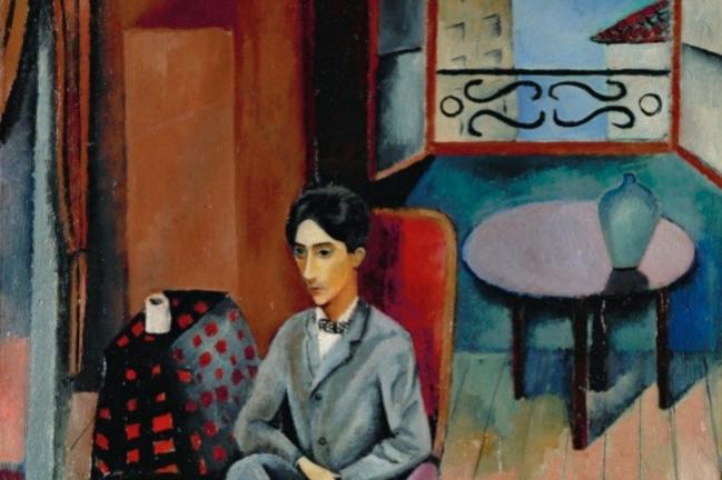 Moses Kisling. Portrait Of Jean Cocteau