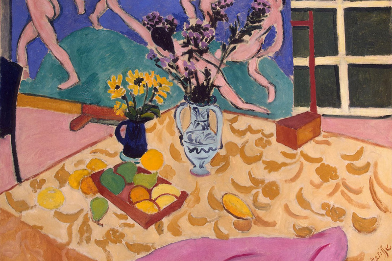 """Henri Matisse. Still-life with a picture """"Dance"""""""