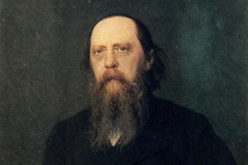 Ivan Nikolayevich Kramskoy. A portrait of the writer-satirist Mikhail Evgrafovich Saltykov-Shchedrin