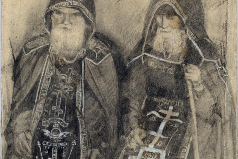 Mikhail Vasilyevich Nesterov. Two hermetic