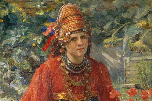 Fedor Vasilyevich Sychkov. Teacher-mordovka 1937