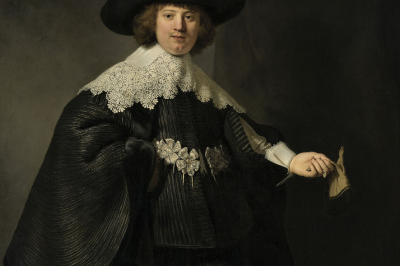 Rembrandt Harmenszoon van Rijn. Portrait of Marten Soolmans