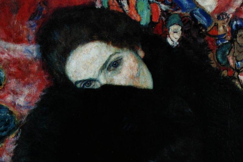 Gustav Klimt. The lady with clutch