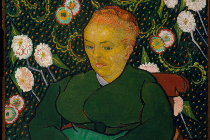 Vincent van Gogh. Lullaby (the Woman who rocks the cradle, the portrait of Augustine rulen)