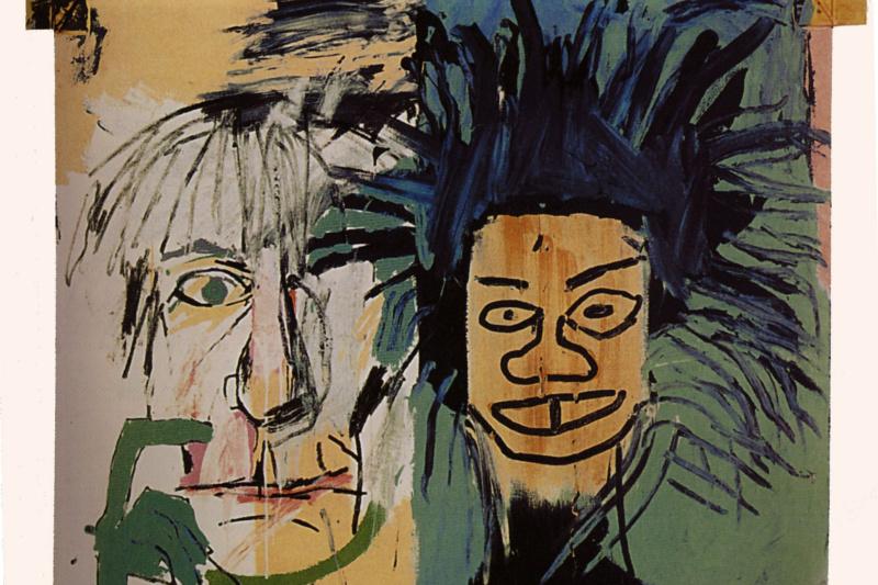 Jean-Michel Basquiat. Two heads