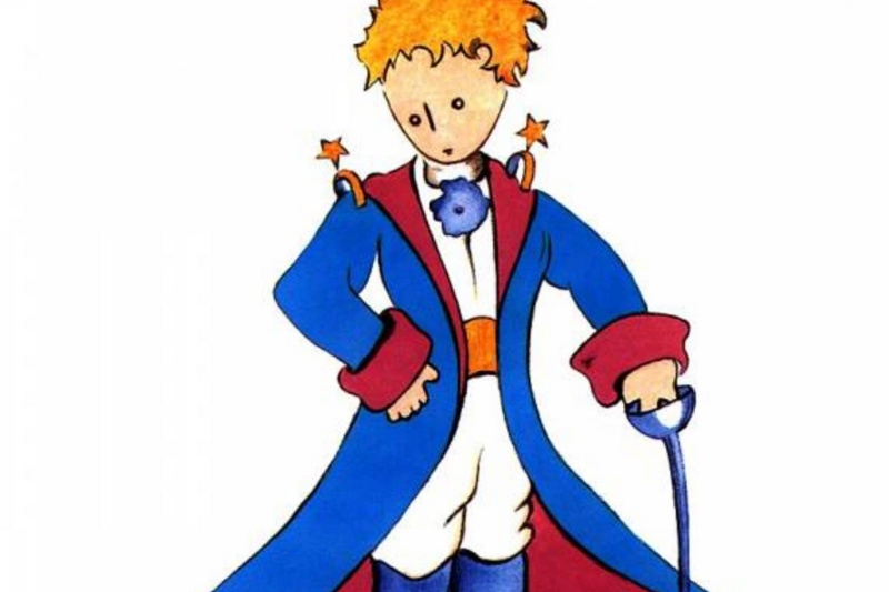Antoine de Saint Exupéry. The best portrait of the Little Prince