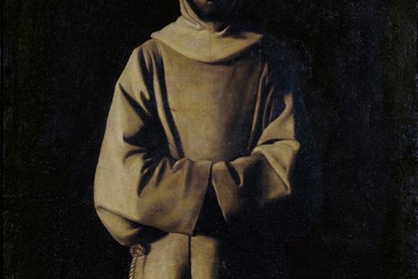 Francisco de Zurbaran. St. Francis Of Assisi