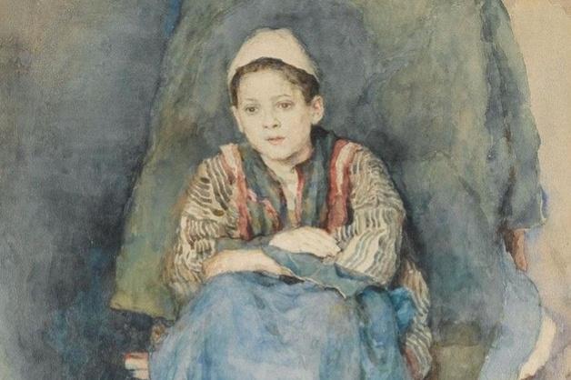 Vasily Ivanovich Surikov. Portrait of a boy