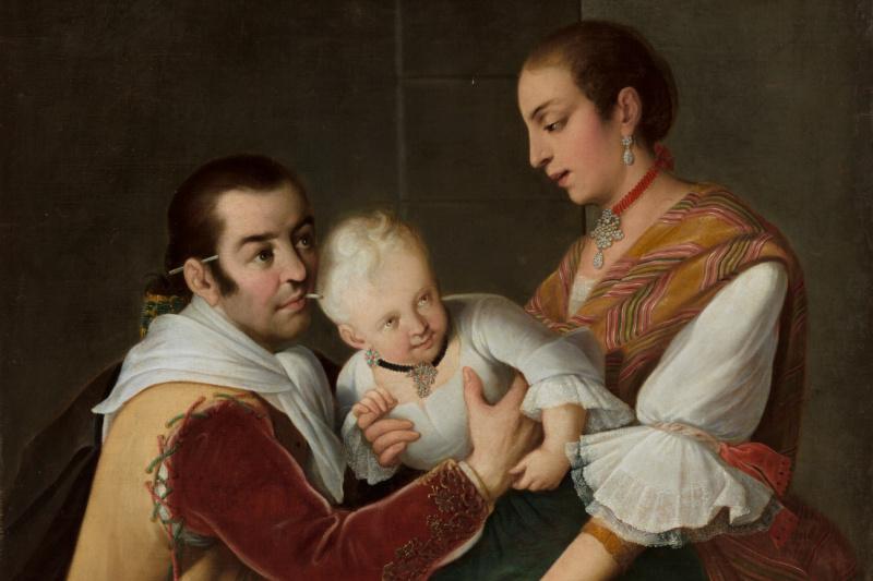 Miguel Cabrera. From Spaniard and Morisca, Albino Girl