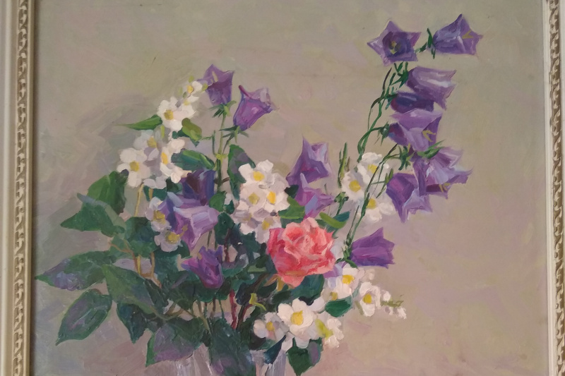 Sergey Ivanovich Zyablikov. Bellflowers