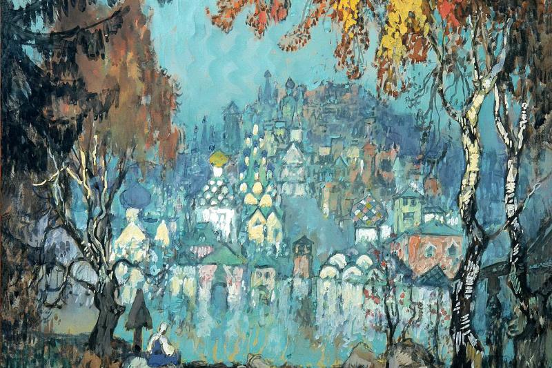 Konstantin Ivanovich Gorbatov. Sunken city