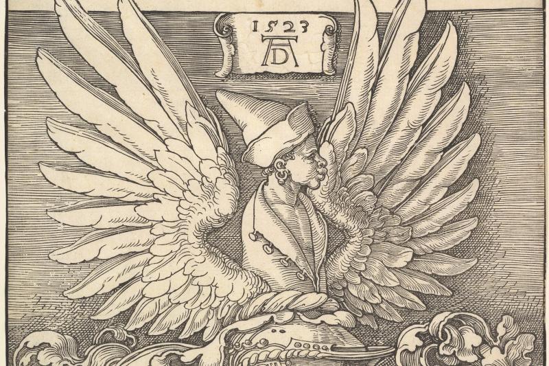 Albrecht Durer. The Coat Of Arms Of Albrecht Dürer