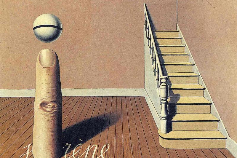 René Magritte. Forbidden literature