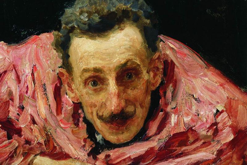 Ilya Efimovich Repin. Portrait of actor, playwright and director V. D. Ratov (SM Muratov)