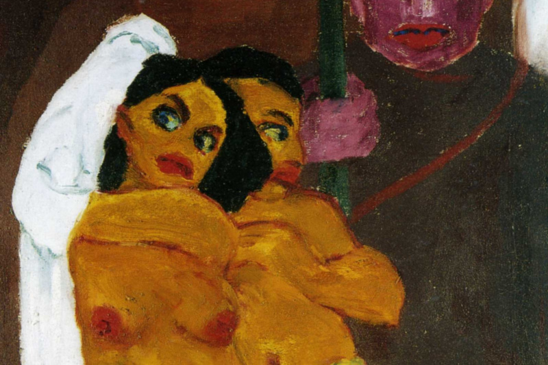 Emil Nolde. Nudes and eunuch