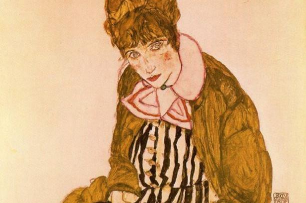 Эгон Шиле. Портрет Эдит Шиле, жены художника
