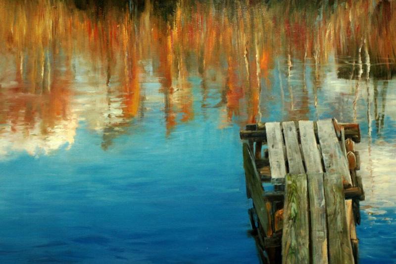 Daria Feliksovna Lagno. Bridges in autumn