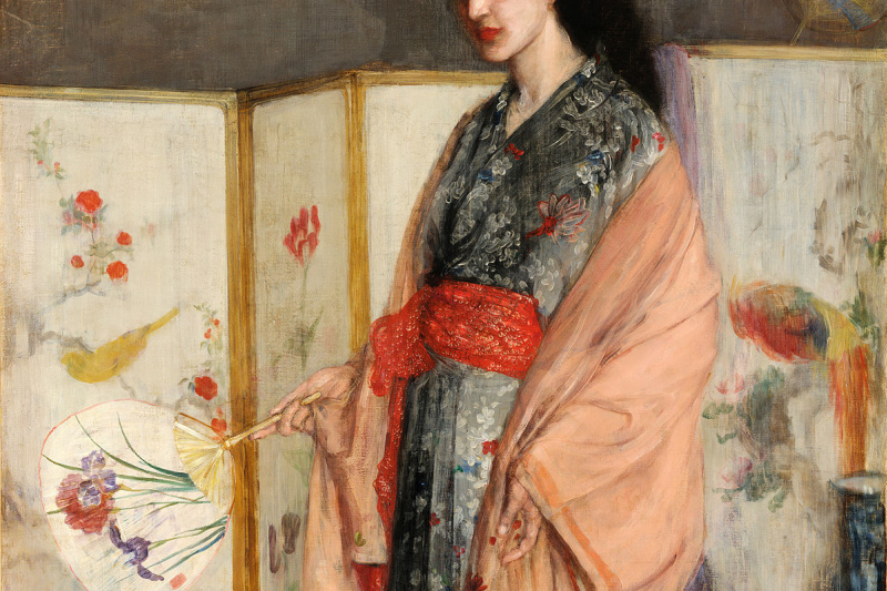 James Abbot McNeill Whistler. Pink and Silver: A Princess from China