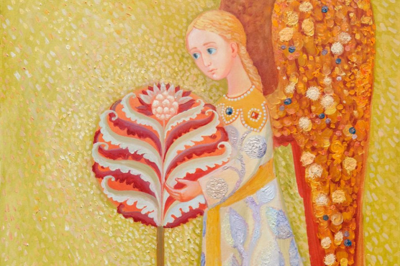 "Olga Gennadievna Kravtsova-Motspan. ""Holy Guardian Angel"""