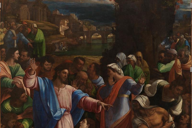 Sebastiano del Piombo. The Resurrection Of Lazarus