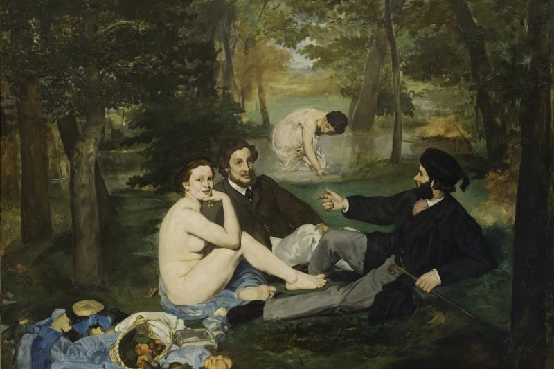 Edouard Manet. Breakfast on the grass