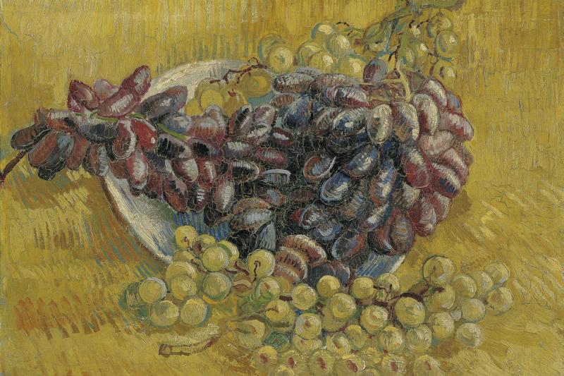 Vincent van Gogh. Grapes