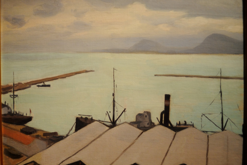Albert Marquet. The boathouse at Bougie.