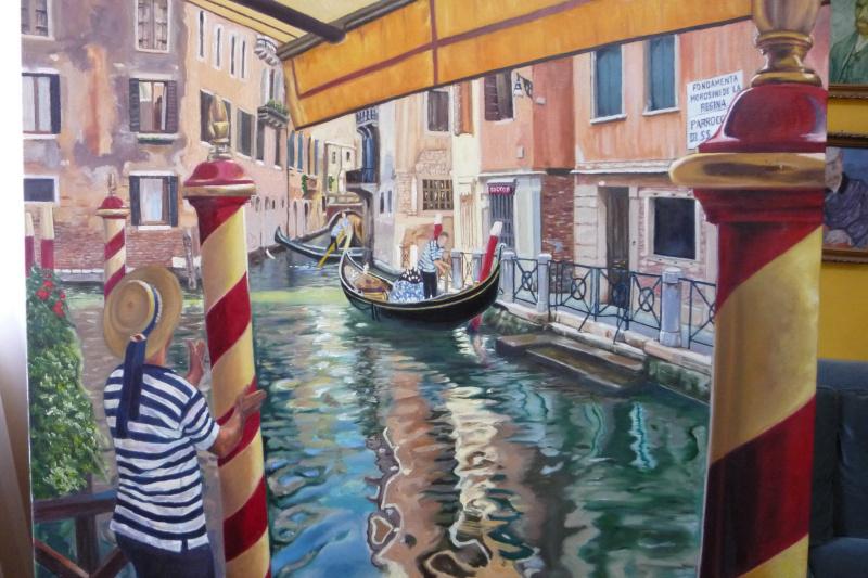 Jorge abarca. Venecia, el último día del verano
