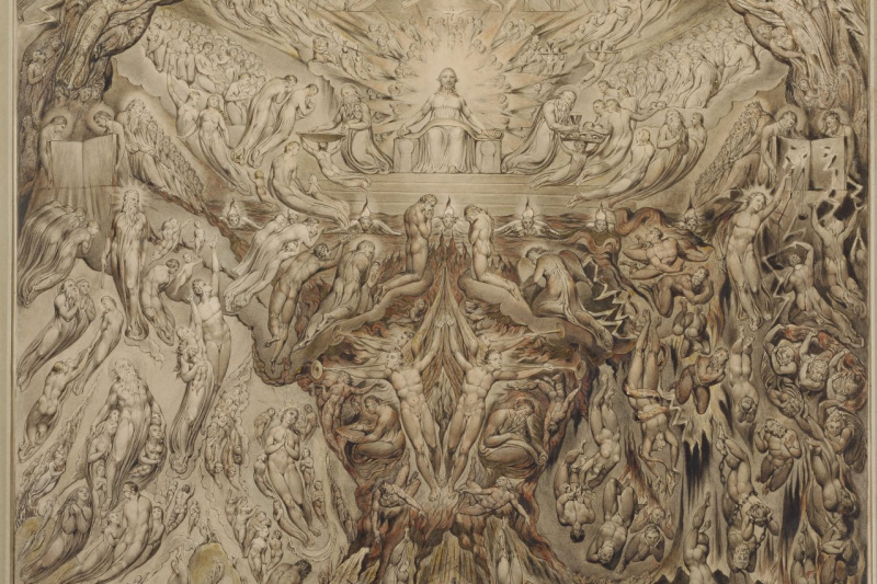 William Blake. A Vision of the Last Judgment
