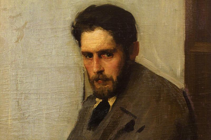 Alexander Murashko. Portrait of the artist G. Tissa