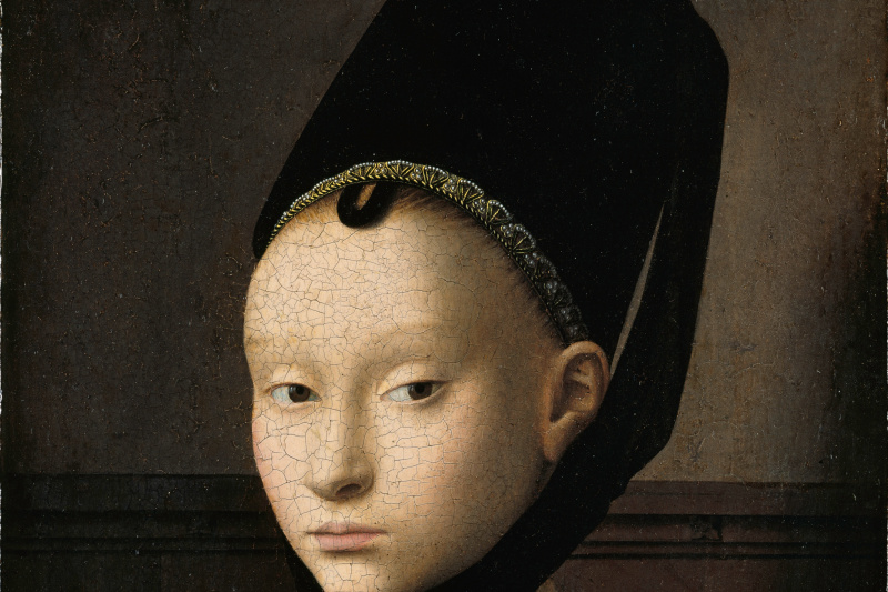 Petrus Christus. Portrait of a Young Lady