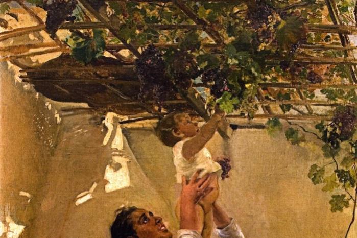 Хоакин Соролья (Соройя). Виноградная лоза